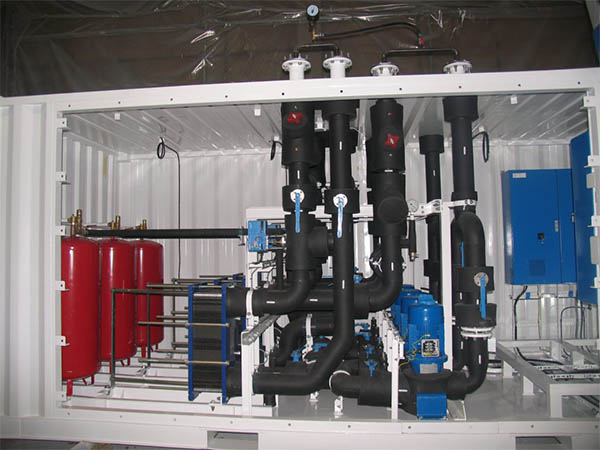 Chiller containers for offshore market